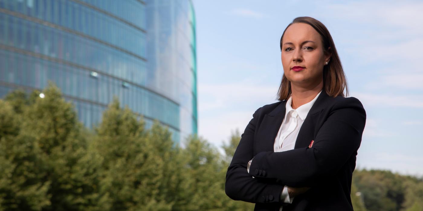 Real estate consultant Olivia-Maria Seifert-Kurek